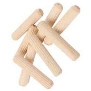 Chốt gỗ cao su 15x500mm