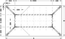 Cho bàn chữ nhật, hình vuông và hình tròn