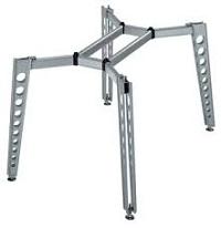 Trọn bộ IDEA 300 với chân bàn được thiết kế dạng lỗ