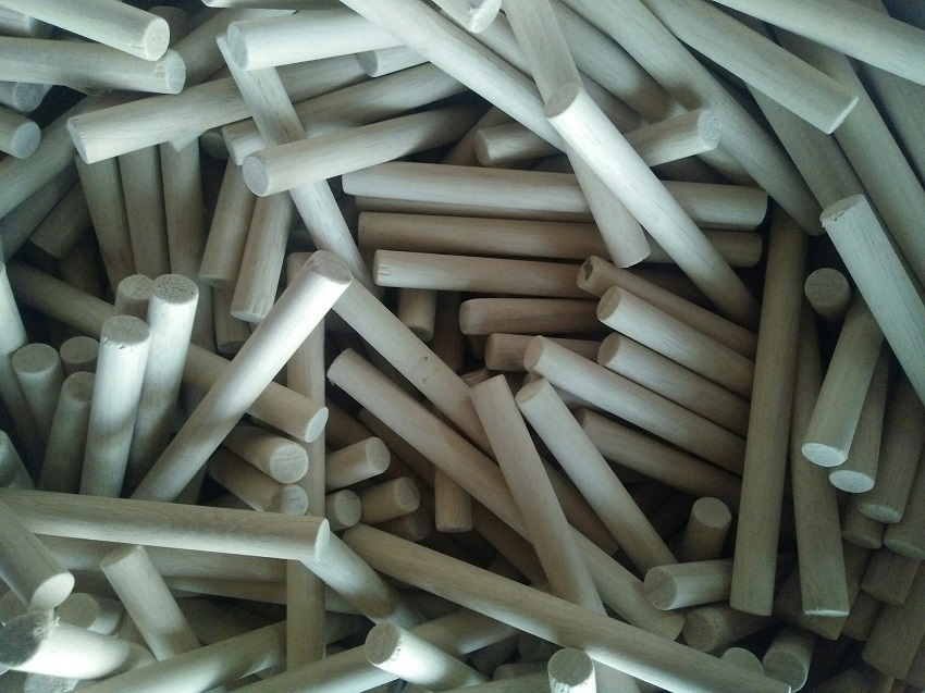 Chốt gỗ cao su 11x125mm trơn