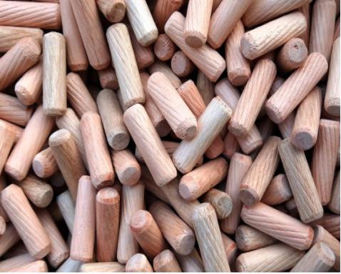Rubber wood dowel 5.8x30mm