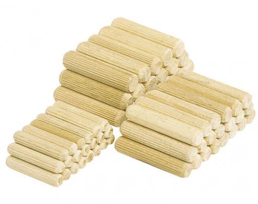 Chốt gỗ cao su 10x65mm
