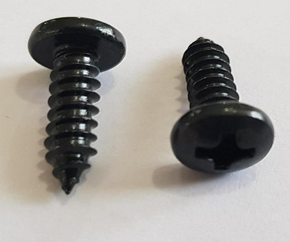 Vít inox ĐD 4x16 xi đen