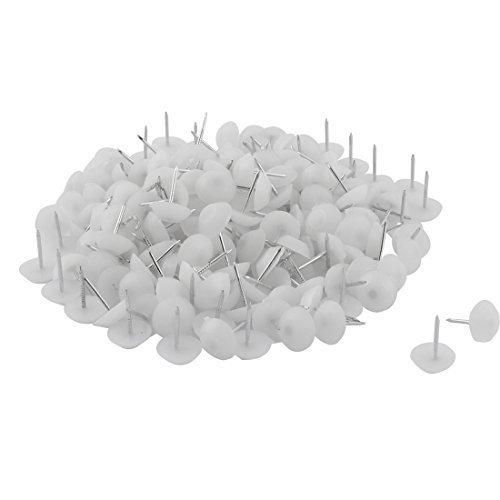 Đinh dù nhựa trắng 15x5mm