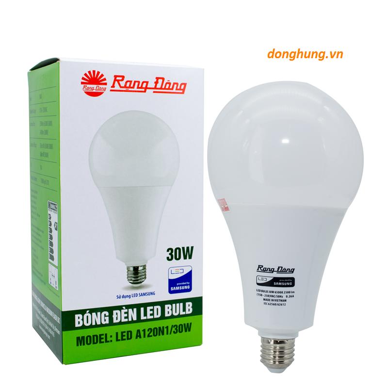 Đèn Led bulb 30W Rạng Đông