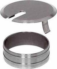 Nắp nguồn dây điện- lỗ khoan Φ60mm, 2 bộ phận, tròn