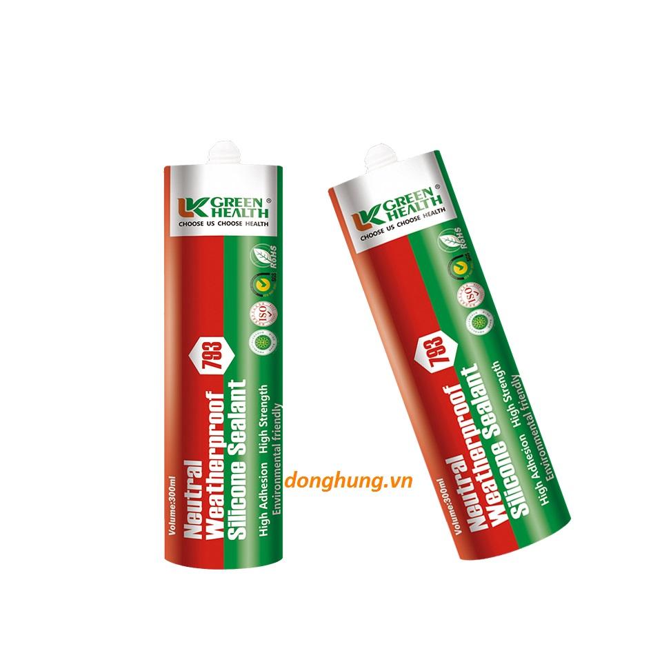 Keo silicone sealant green health 793