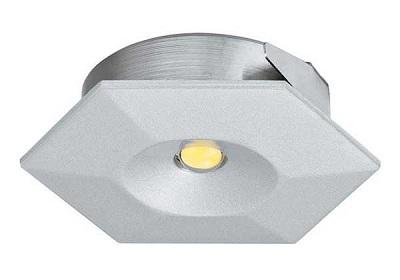 Đèn LED âm 1 W, hình lục giác