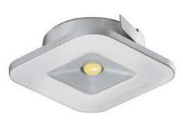 Đèn LED âm 1W, hình vuông