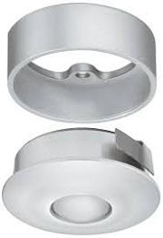 Đèn LED lắp âm hình tròn, 1W, với thấu kính