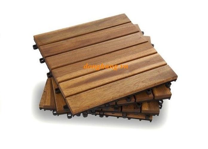 Ván sàn gỗ ngoài trời 6 nan