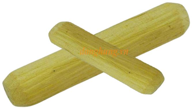 Chốt gỗ cao su 8x50