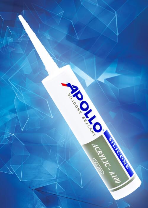Keo Silicone Apollo A100 White