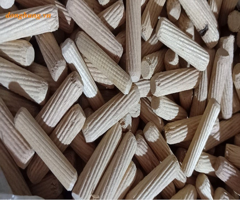 Chốt gỗ cao su 6x30mm