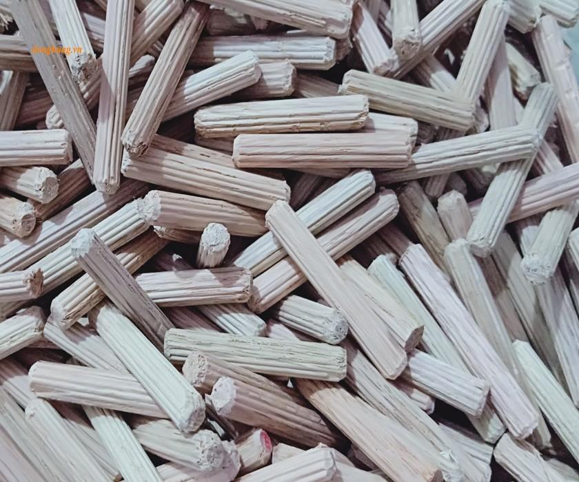 Rubber wood dowel 6x40mm